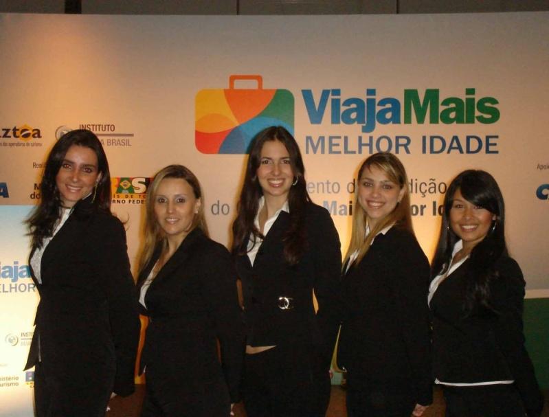 Casting para Seminários na Serra da Cantareira - Casting de Promotores para Eventos