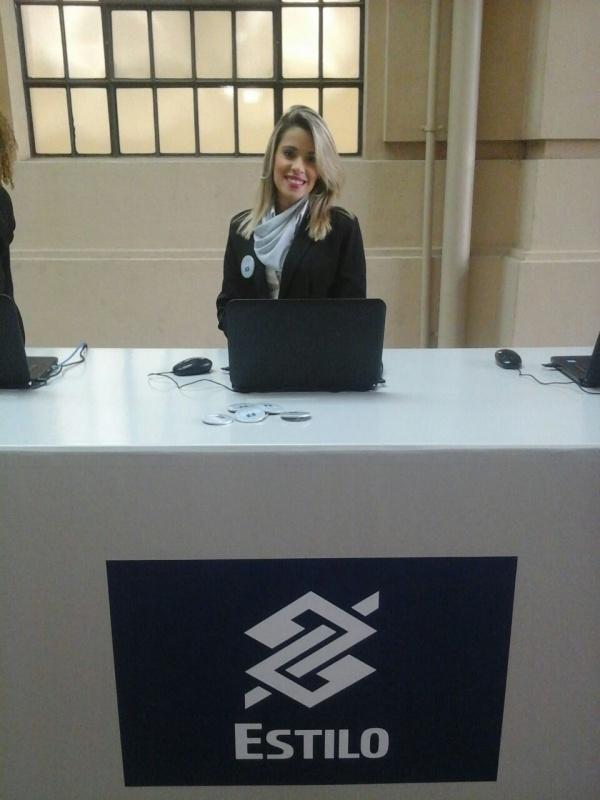 Empresa de Recepcionista para Eventos em Sp em Itaquaquecetuba - Recepcionista para Feiras de Negócios