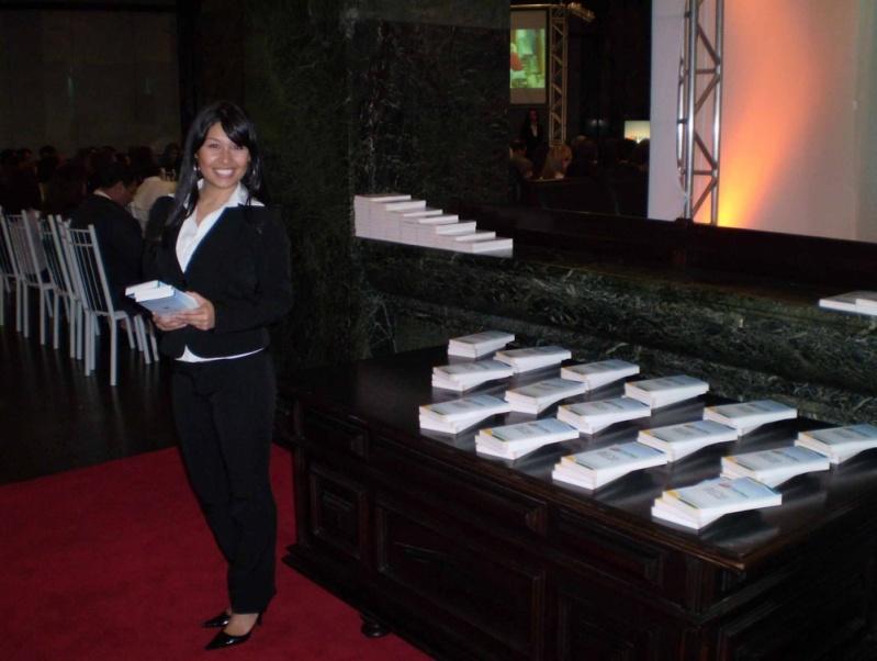 Empresa de Recepcionista para Eventos em Taboão da Serra - Recepcionista para Palestras