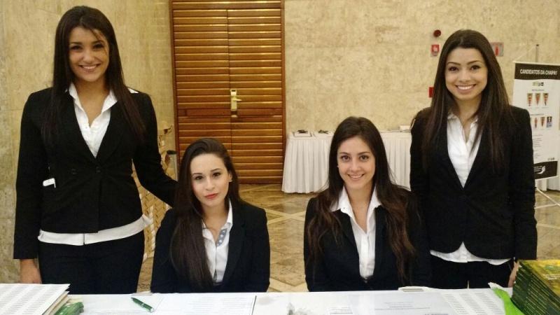 Recepcionista para Conferência na Barra Funda - Recepcionista para Feiras de Negócios