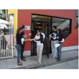 agência de promotores para sampling Parque São Domingos