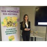 contratação de recepcionistas para eventos preço na Vila Sônia