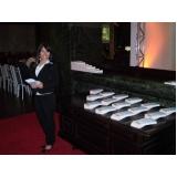 empresa de recepcionista para eventos em Mairiporã