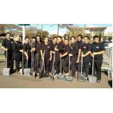 equipes de limpeza para eventos Perus