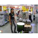 promotor para degustações em mercados na Vila Esperança