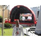 promotor para festival na Vila Leopoldina