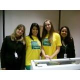recepcionista para palestras em sp em Guararema