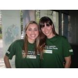 recepcionistas para palestras na Vila Mariana