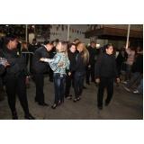 segurança feminino para eventos na Cidade Jardim