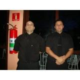 seguranças em eventos fechados na Vila Mazzei