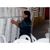 serviço de limpeza para eventos preço Pacaembu