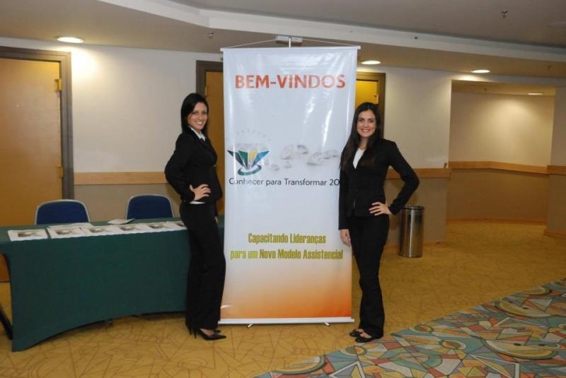 Casting para Seminário na Brasilândia - Modelos para Feiras Promocionais
