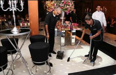 Limpeza para Evento Saúde - Auxiliar de Limpeza para Eventos