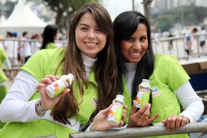 Promotores Sampling em Feiras em Sp em São Bernardo do Campo - Promotores para Ponto de Venda