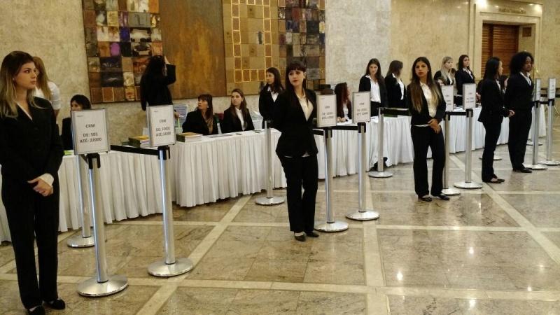 Recepcionista para Palestras na Cachoeirinha - Recepcionista para Conferência