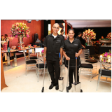 auxiliares de limpeza para eventos Jardim América