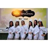 contratação de recepcionistas para eventos Parque São Rafael