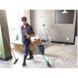 limpeza pós evento na Vila Sônia