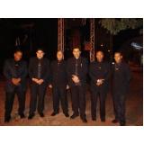 onde encontro empresa de segurança para eventos na Aricanduva