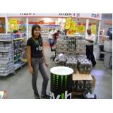 promotor para degustações em mercados na Vila Romana