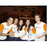 promotores para ações promocionais na Vila Ré
