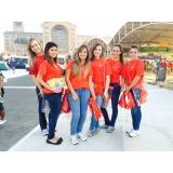 promotores sampling em feiras na Cidade Tiradentes