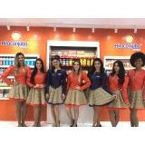 recepcionista para feiras em sp na Cidade Tiradentes