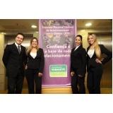 recepcionistas bilíngue para eventos na Vila Romana