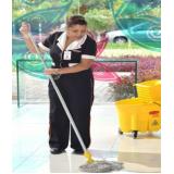 serviços de limpeza para eventos na Vila Anastácio