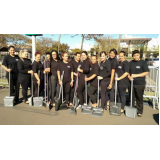 terceirização de limpeza para eventos preço Cambuci